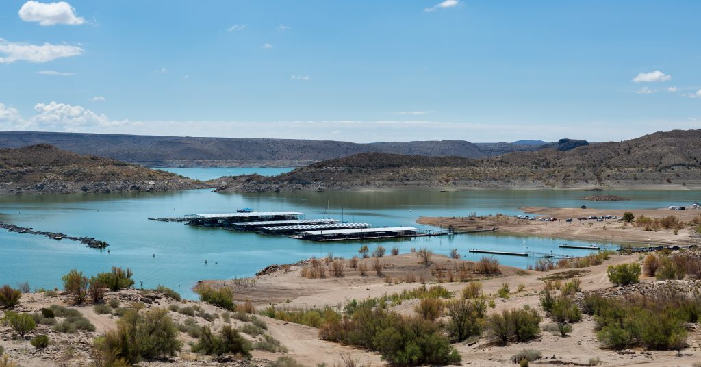 a beautiful image of Elephant Butte, in New Mexico